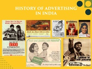 History of Advertising in India- The Design Trip
