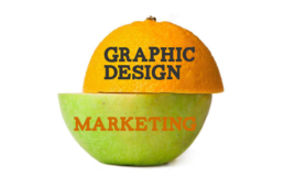 graphic and marketing